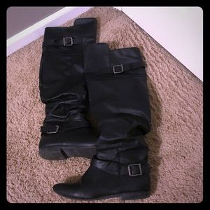 Women's JustFab Knee High boots Size 7